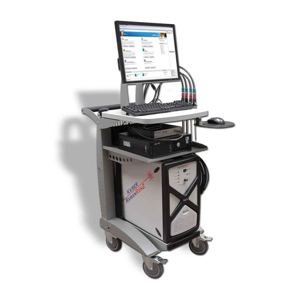Mobilny spektrometr Ramana